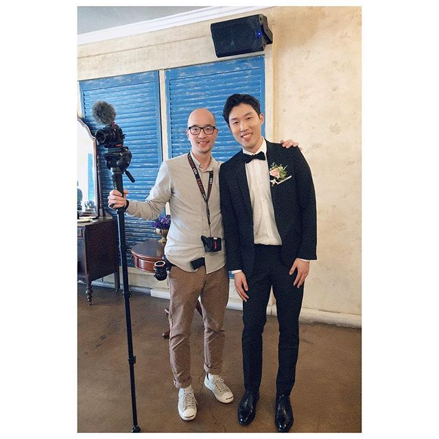 I am so happy to see one of my favorite 동생s get married, and I feel lucky to get to store his memorable moments in the video. Congrats bro and let's play 🏀!! #weddingvideographer #workbutnotwork #happywedding