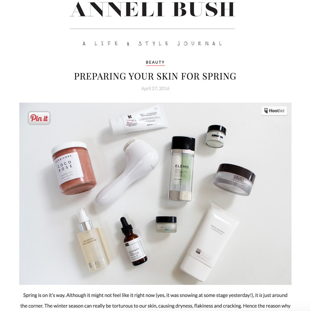 Anneli Bush Blog