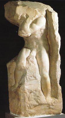 Atlas Slave,Michelangelo,1525–30