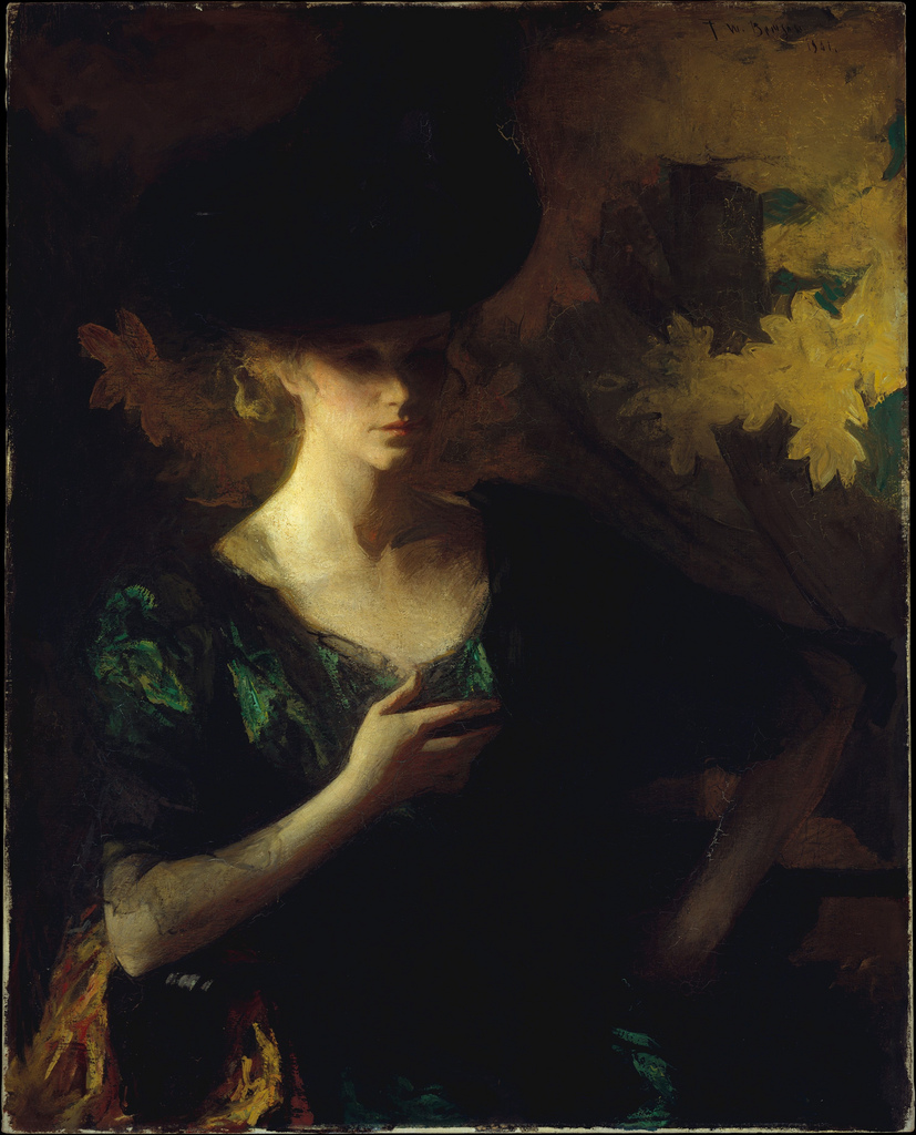 Frank Weston Benson,  Portrait of a Lady,  1901