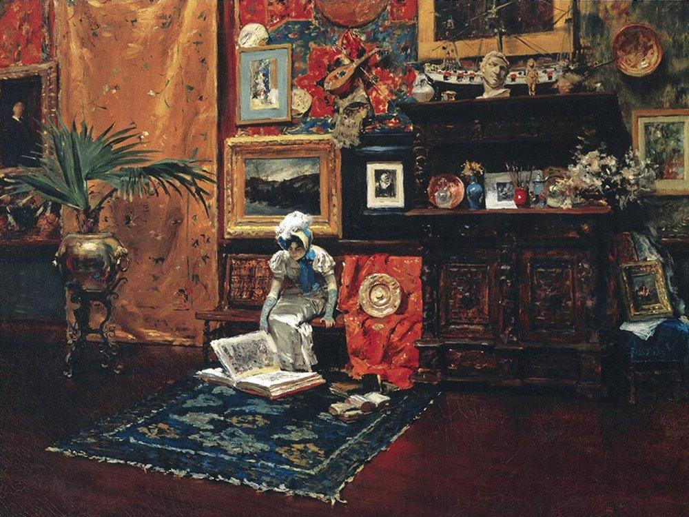 Chase, Studio Interior ca. 1882