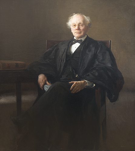 Tarbell, Edmund.  Portrait of Judge Hammond,  ca. 1910