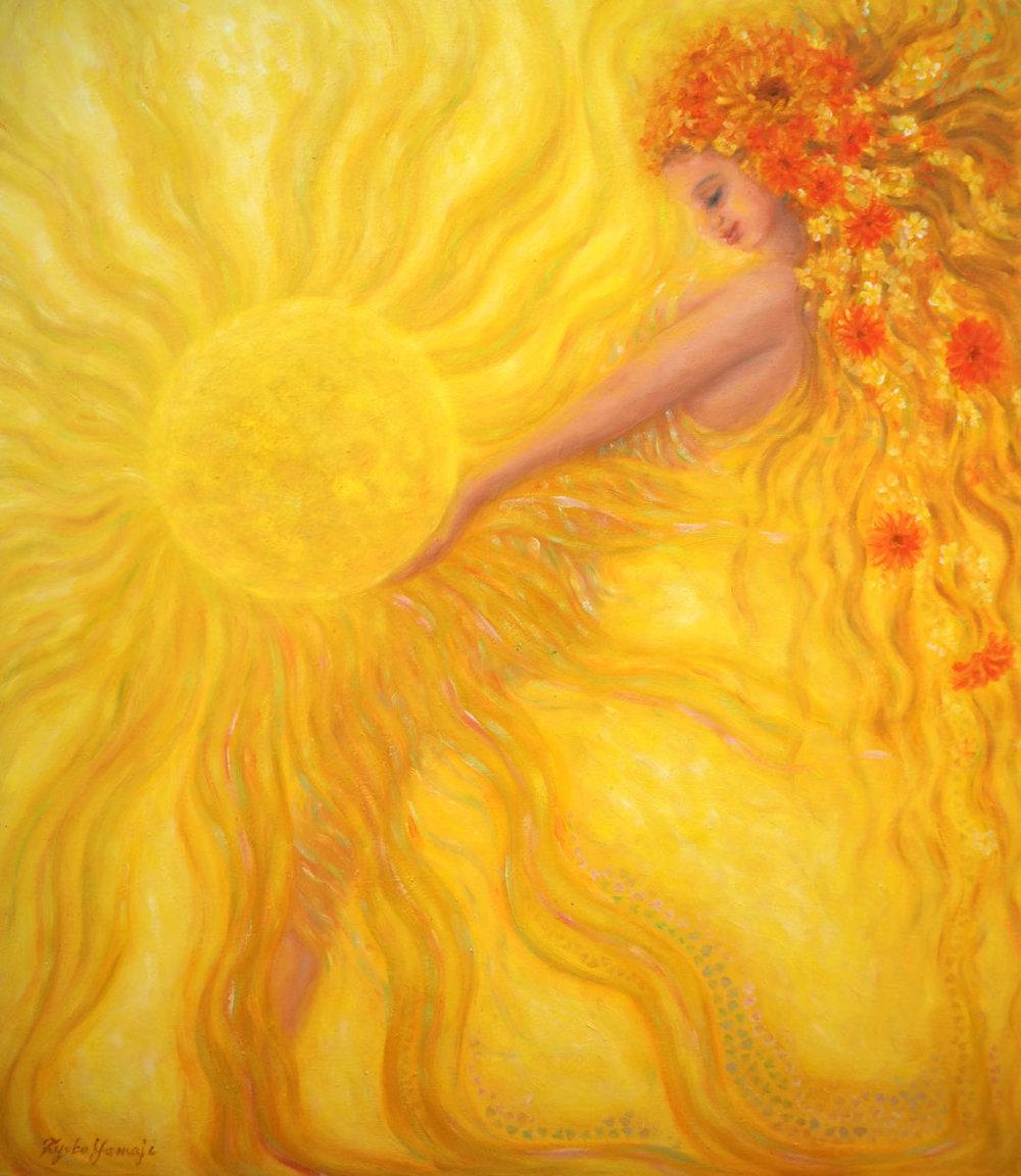 Image Credit:  Sun Goddess by Kyoko Yamaji