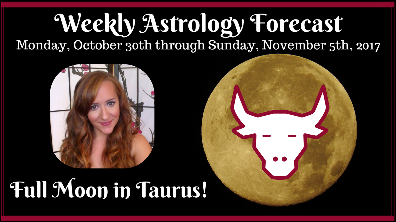 Weekly Astrology Forecast: October 30th through November 5th