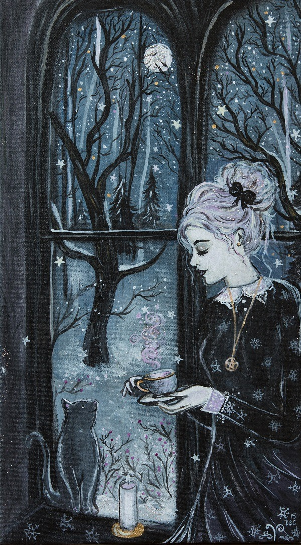 Image Credit:  Making Sugarplum Tea by Lady Viktoria