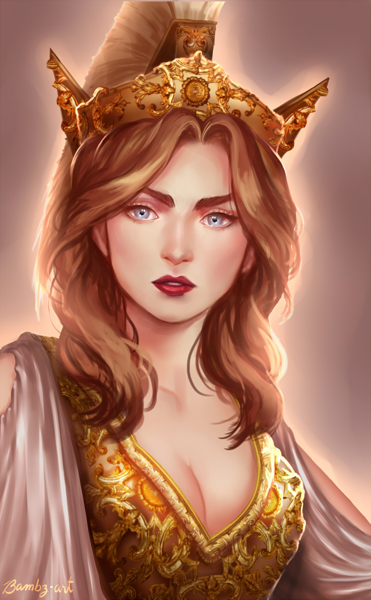 Image Credit:  Athena by Bambz-Art on DeviantArt