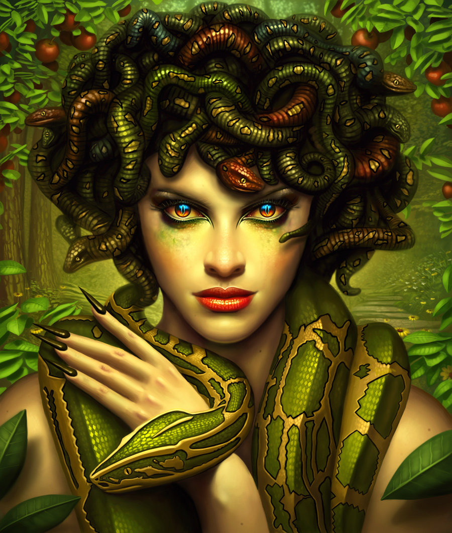 Image Credit: Medusa by George Patsouras