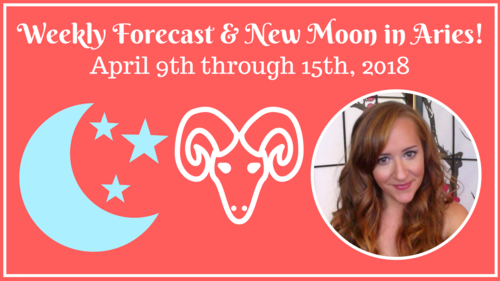 NEW MOON in ARIES & Mercury DIRECT! Weekly Astrology