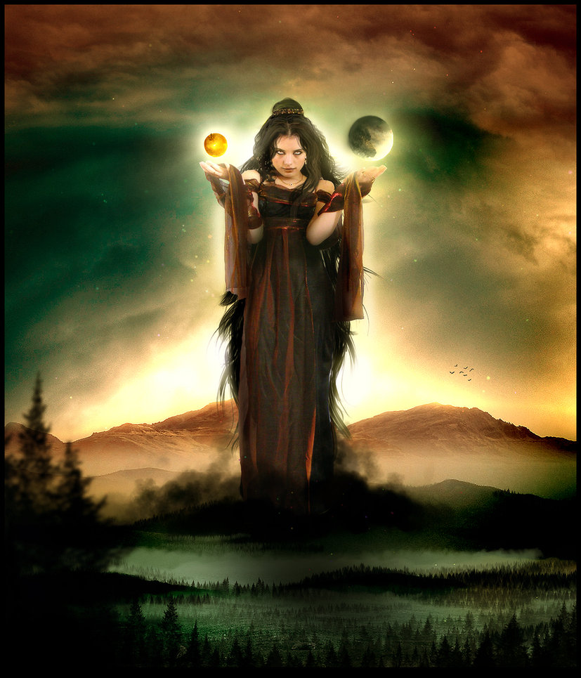 Image Credit:  Eris, goddess of strife by Vp-Manips on DeviantArt