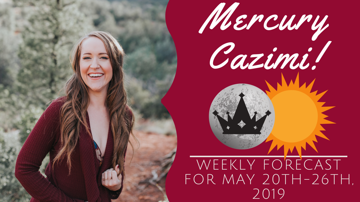 Mercury CAZIMI and Thinking on OVERDRIVE! Weekly Astrology