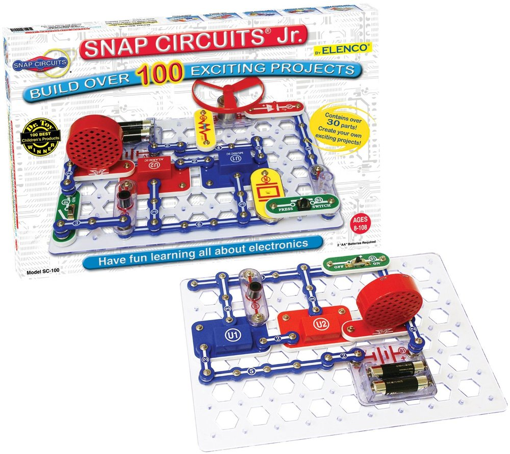 Elenco Snap Circuits Jr. Image source: Amazon.ca