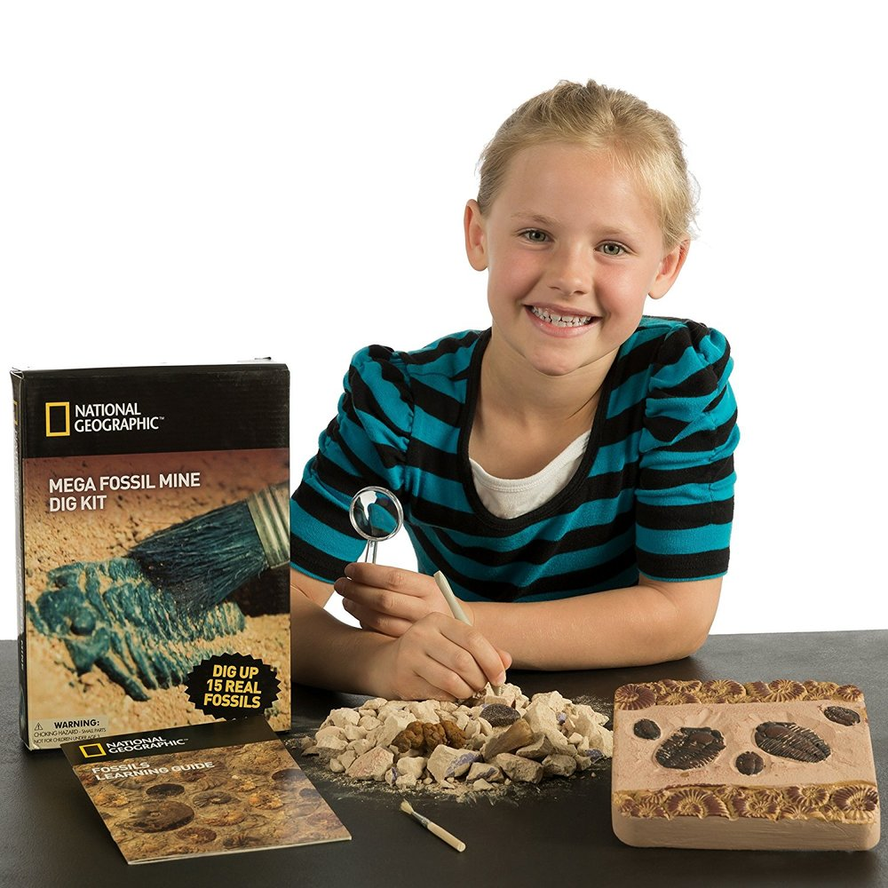 National Geographic Mega Fossil Kit. Image source: Amazon.ca