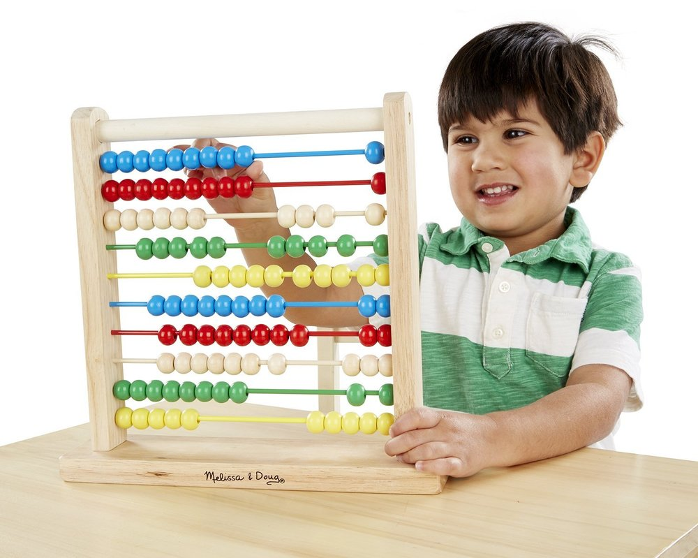 Melissa & Doug Abacus. Image source: Amazon.ca