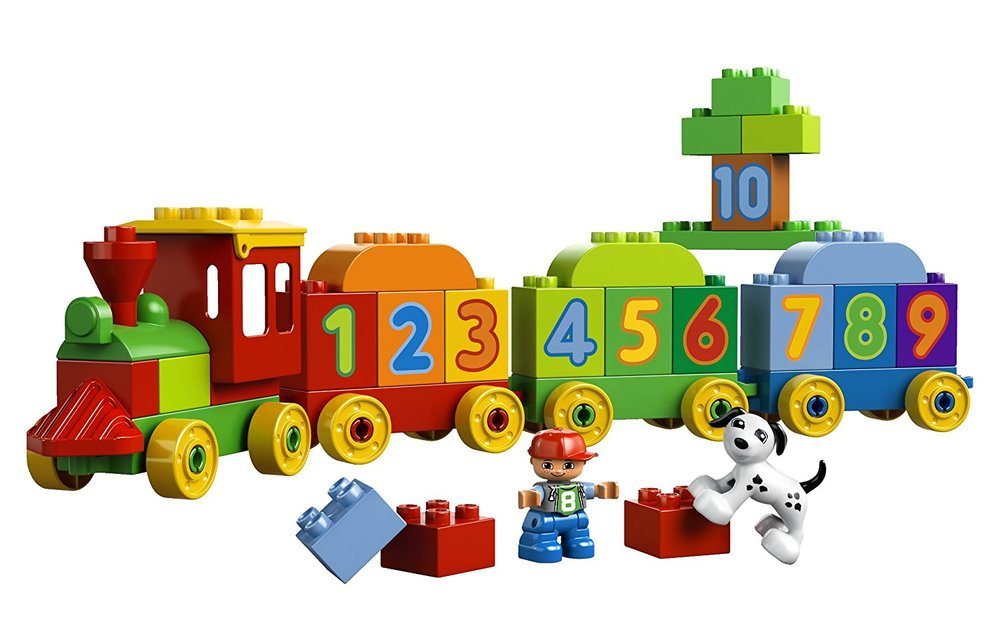 LEGO DUPLO Train Set. Image source: Amazon.ca
