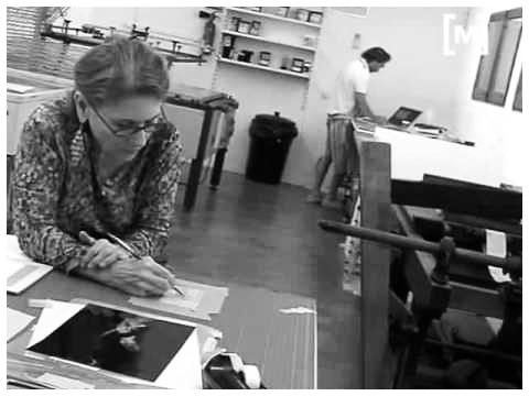 Photo: MANERA NEGRA Taller 2010, Tallers d'Obra Gràfica de Joan Miró at Taller Sert El Somni de Miró, Palma, Illes Balears, ES (watch  RTV Mallorca )  Video Credit: Miró Mallorca Fundació