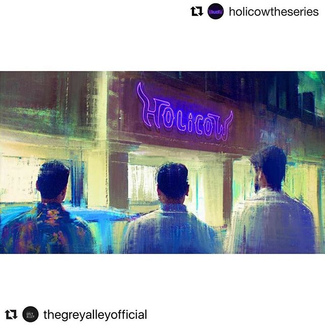 #Repost @thegreyalleyofficial ・・・ In its entirety, Holi Cow is a six-part YouTube series that follows the adventures of four constantly arguing friends (Vishvesh Prasad, Tara Sen, Subbu Venkat, and Aman Rashid) who come together to buy and run an Indian restaurant in Edison, New Jersey. But, you start scratching the surface, and there is more one takes from this tongue-in-cheek comedy. Read the entire interview with writer, actor, producer Naren Weiss.  Link in the bio.  @holicowtheseries  #holicow #holicowtheseries #miniseries #youtube #film #art #indian #art #cinema #film #producer #series #youtubeseries #friends #comedy #tongueincheek #blackhumor #thegreyalley