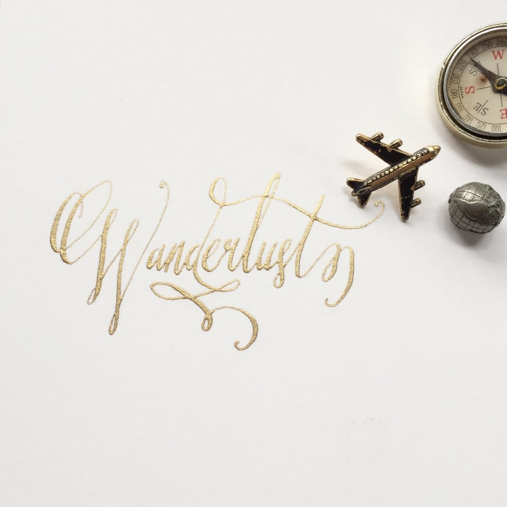 Calligraphy by Stephanie Laursen