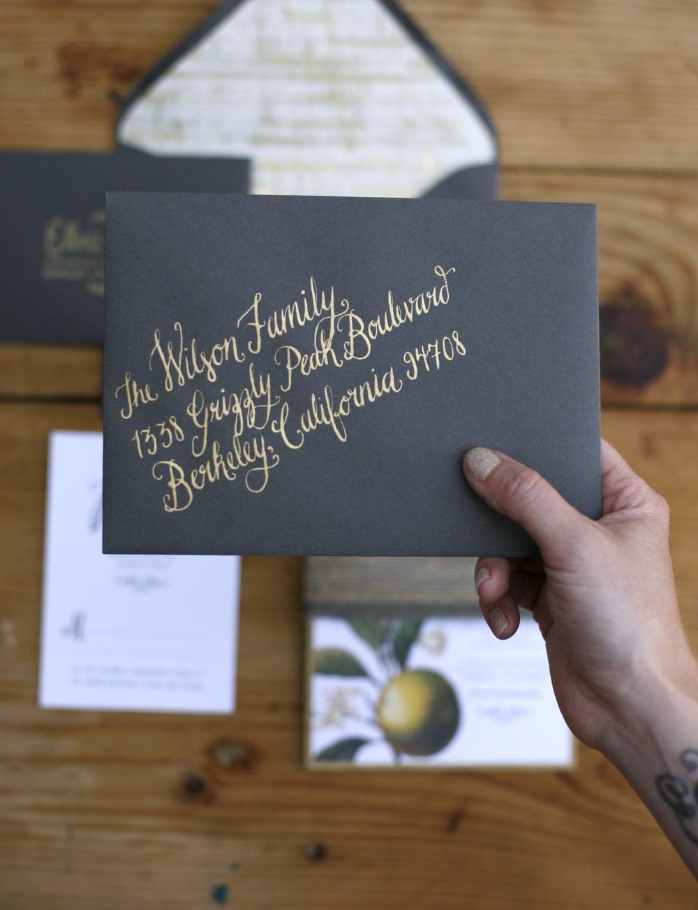 Calligraphy by Bowerbird Atelier