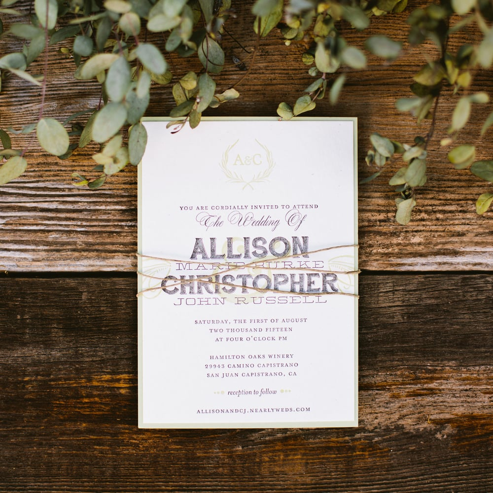 Invitations by Bowerbird Atelier | Photography by Sorella Muse
