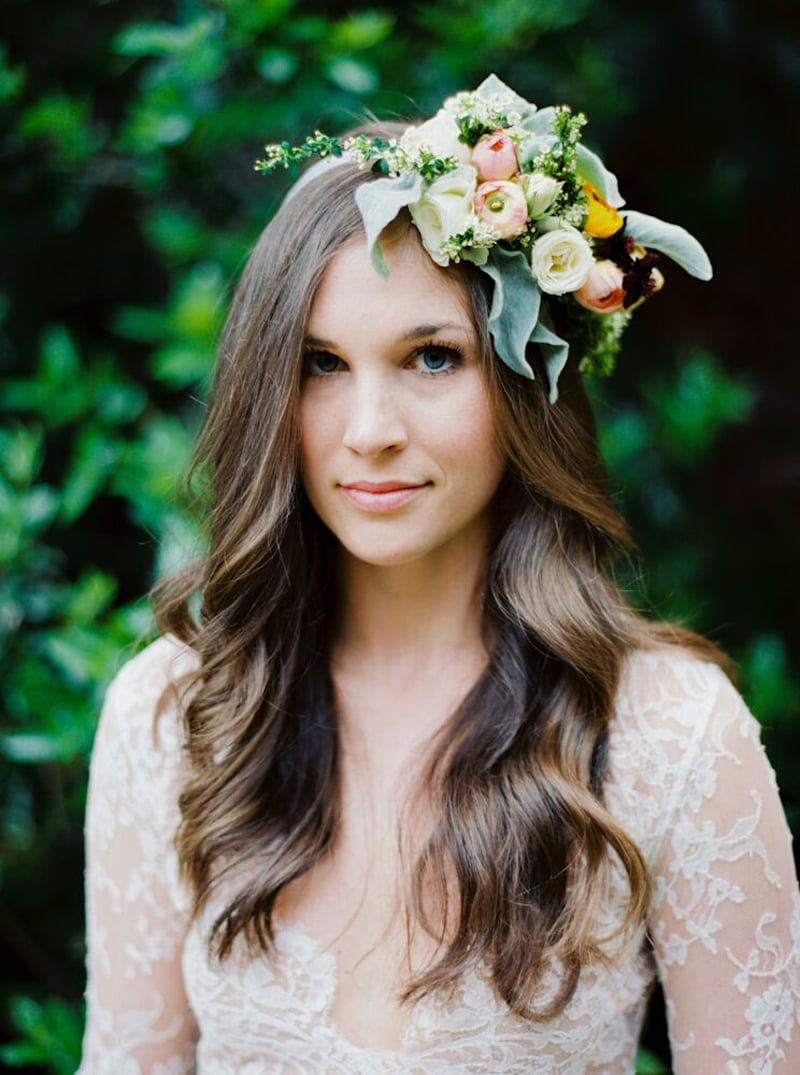 Headwreath by Bowerbird Atelier | Photo by Jon Upchurch | Sarah Winward Workshop