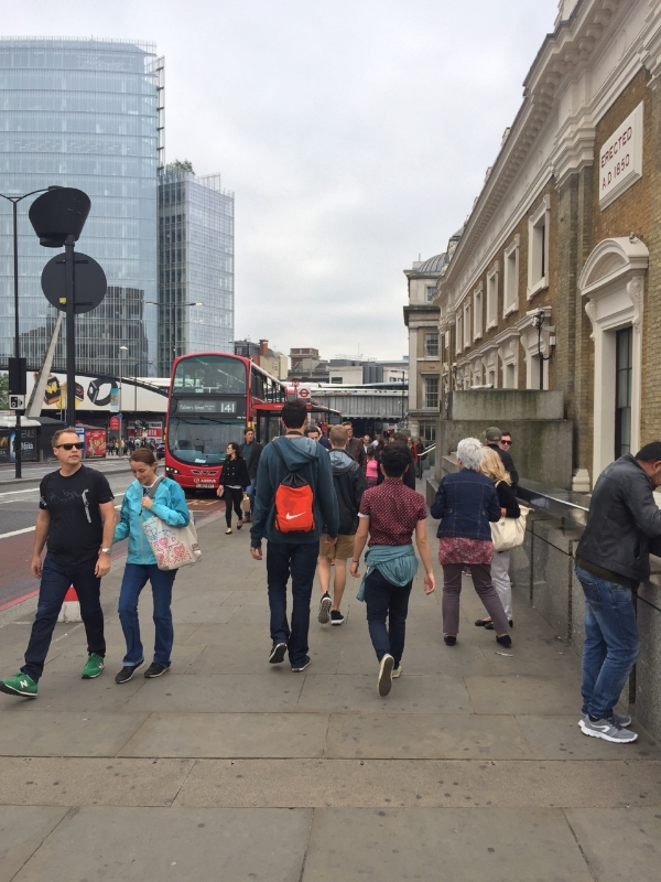 Touring around the city of London