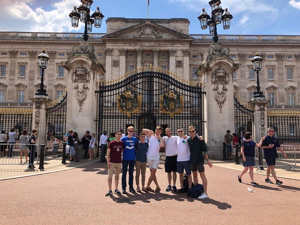 Dins take Buckingham Palace. We were royally impressed.