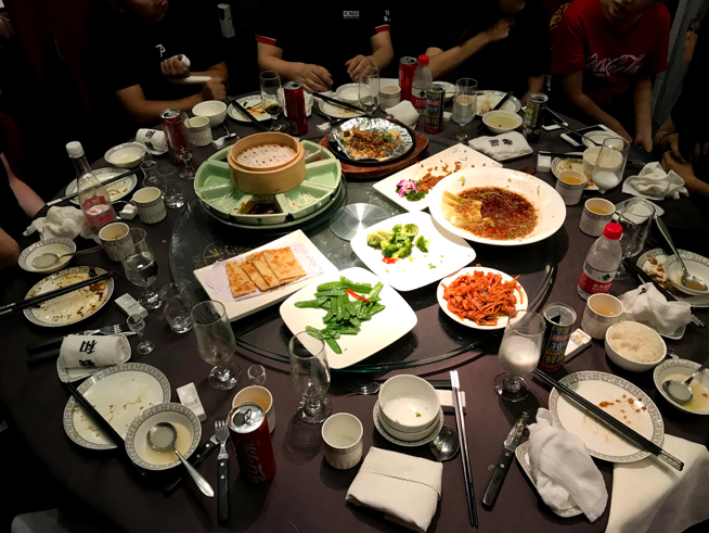An amazing meal of Peking Duck!  Photo by Kevin Kearns #244