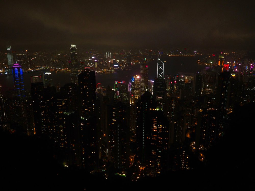 Hong Kong by Night  Photo by Eli Troen #250