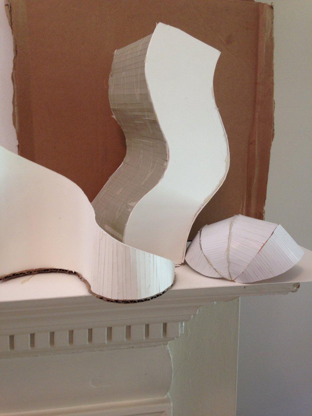 3-D Paper Sculpture -