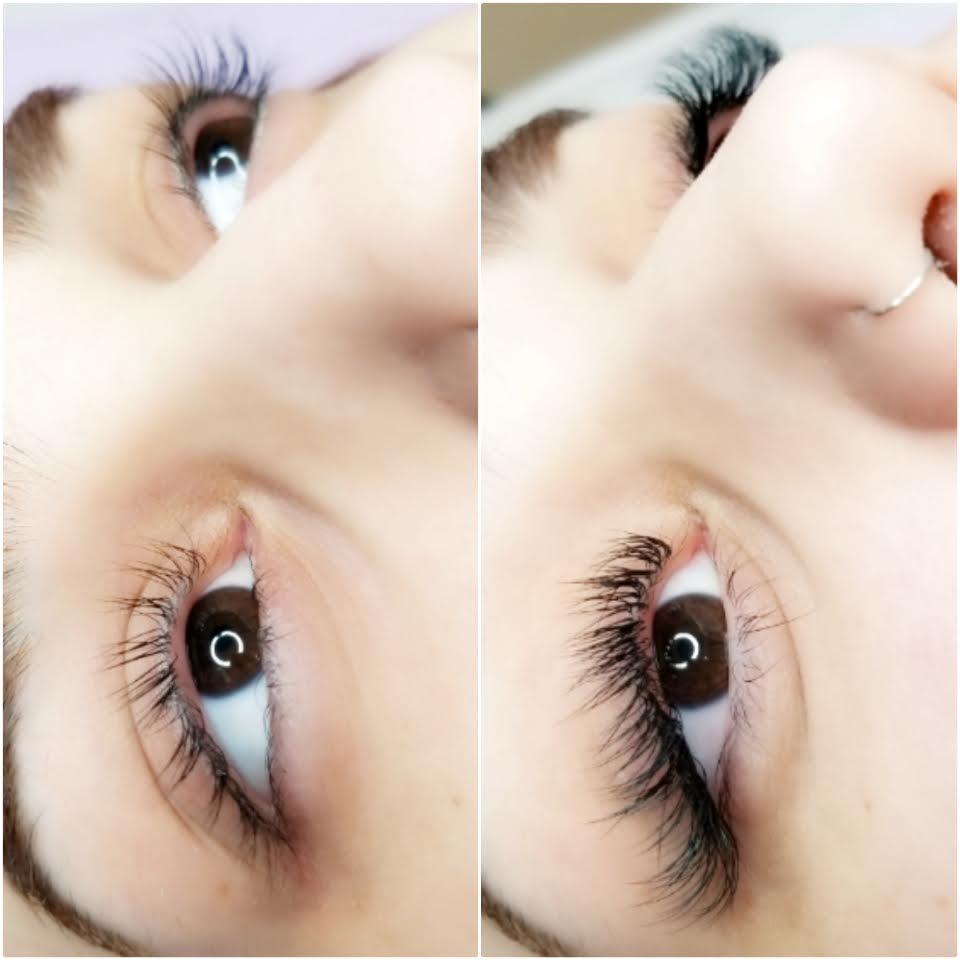Eyelash Extensions - Classic - Hybrid - Volume