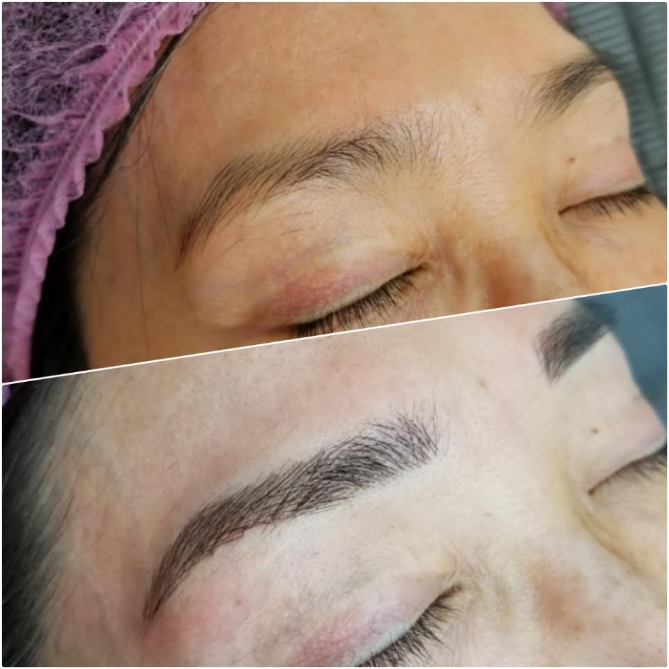 Microblading Eyebrows - Semi-Permanent Makeup