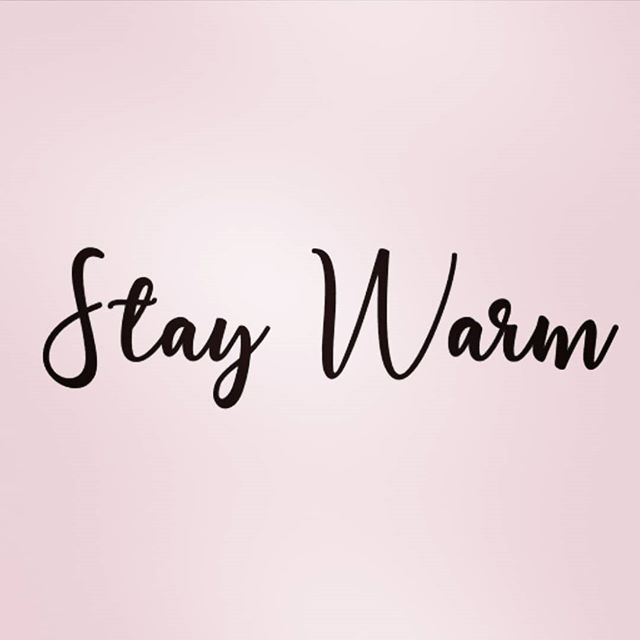 We hope everyone is bundled up this morning!  Stay warm prettyfuls! . . . . 😷💨🧣🧤🧦 . . .  #staywarm #winterishere #bundleup #winter #igdaily #instapost #stay #warm #potd