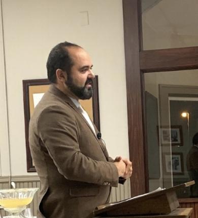 Rodrigo De Sousa, Prof of Hebrew & O.T., Faculté Jean Calvin