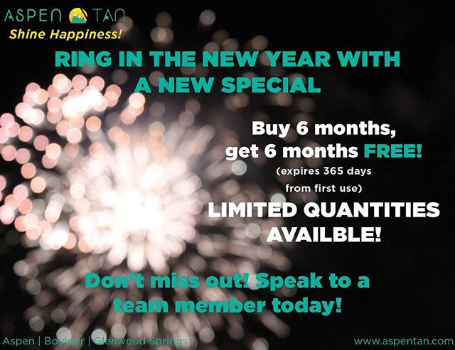 Who doesn't love a great special - Buy 6 months upfront, GET 6 MONTHS FREE! Take advantage before it's too late!