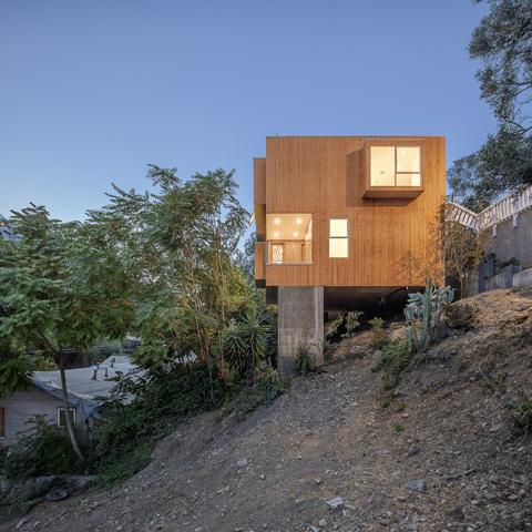 LA Micro-homes - ARCHITECTURE