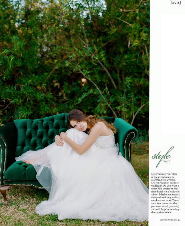 Wedding Planning in San Francisco, CA - Feature in Ardent Magazine