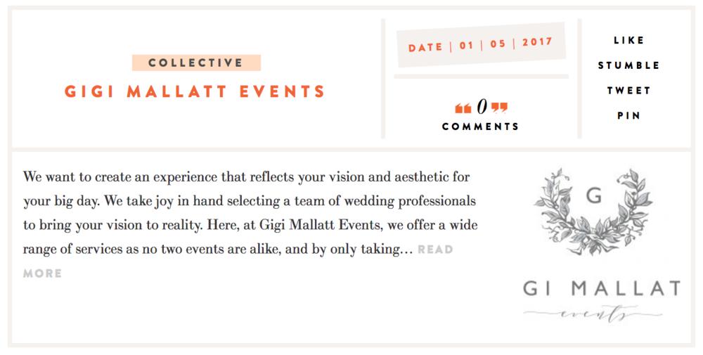 The Grey Collective Gigi Mallatt Events