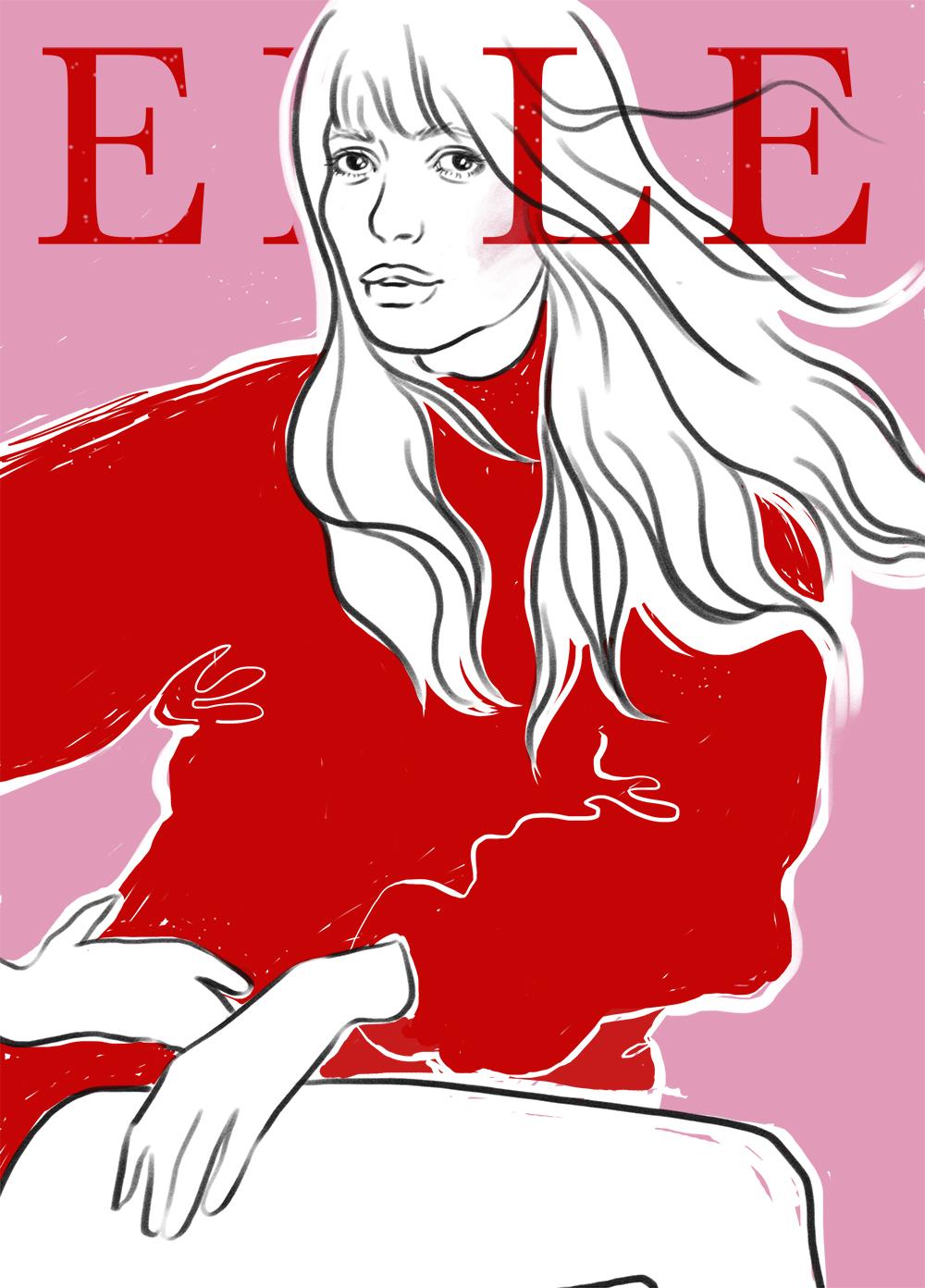 Elle Brazil Cover