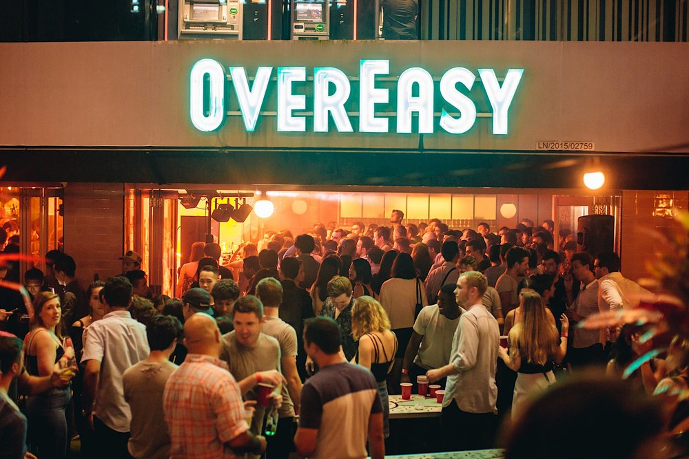 Clossal Private Event - OverEasy