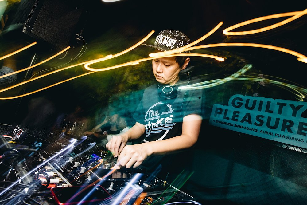 Guilty Pleaseures Party Dj with Music Console - OverEasy