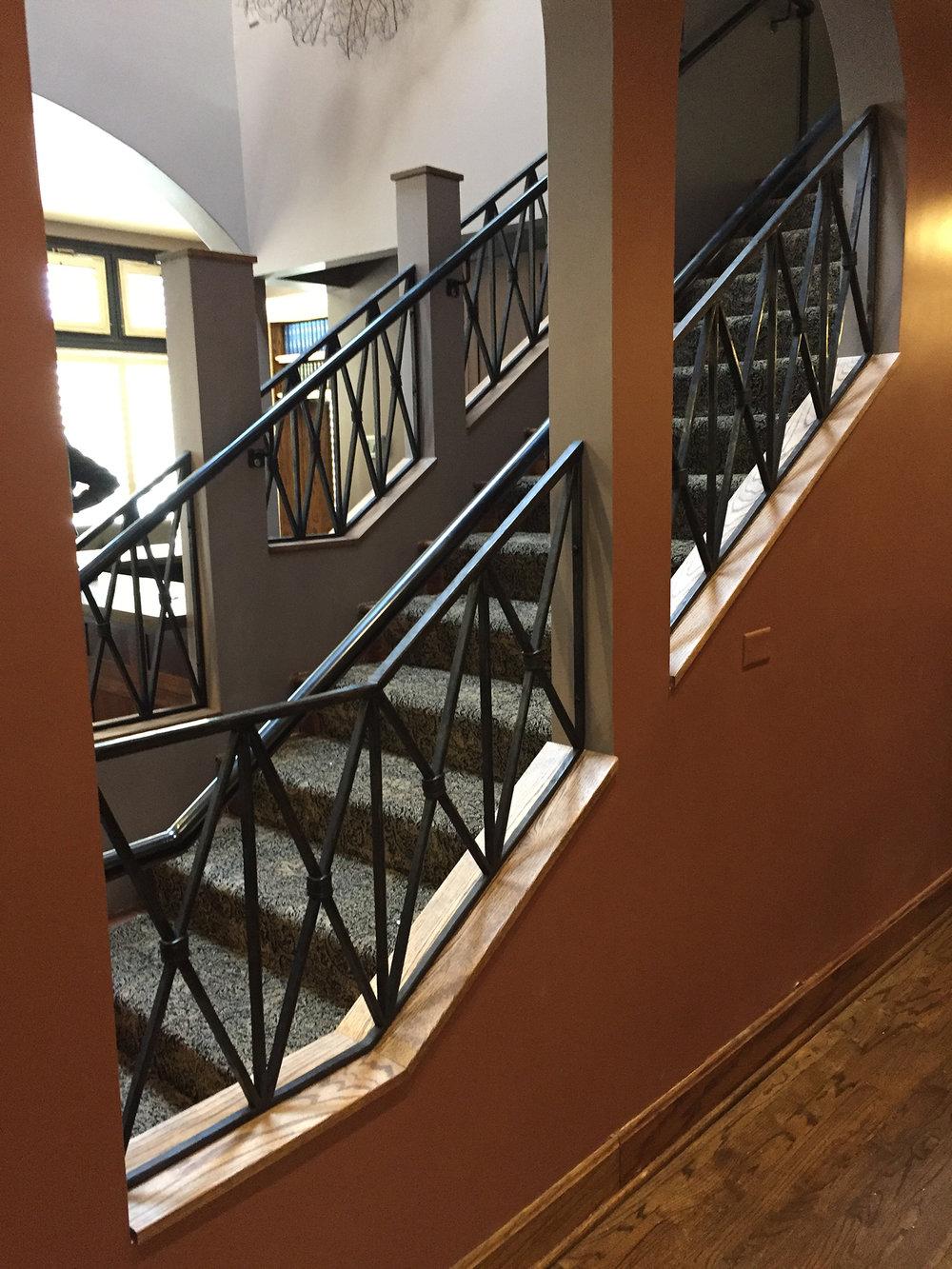 The Cactus Club Staircase Railing