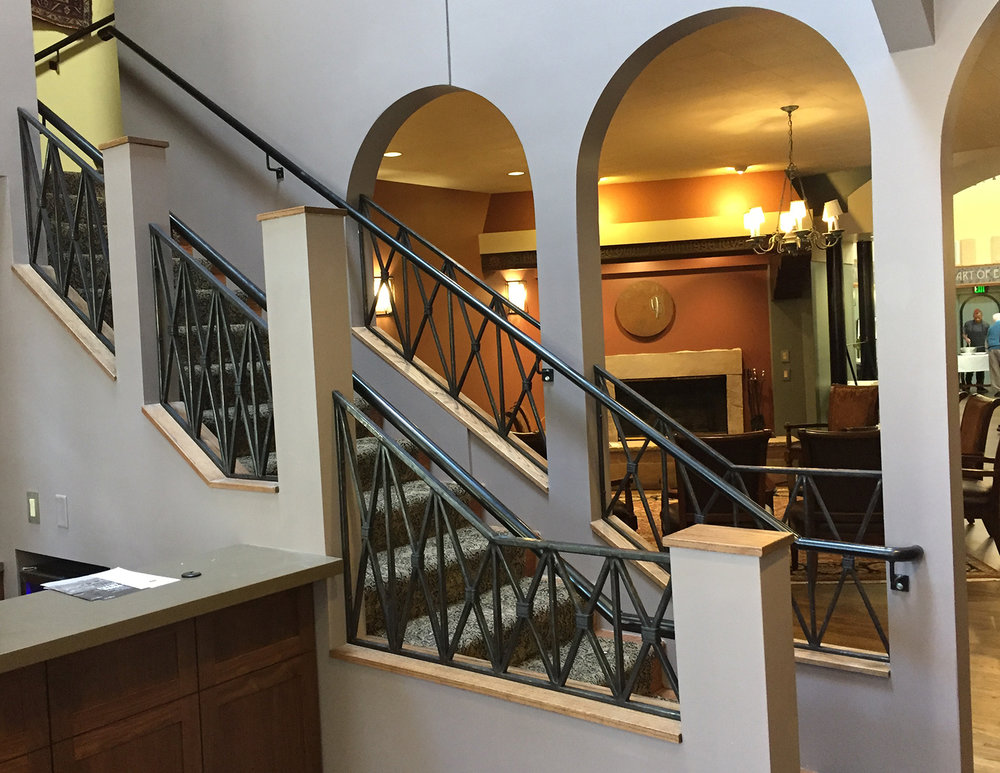 The Cactus Club Stairway Railing