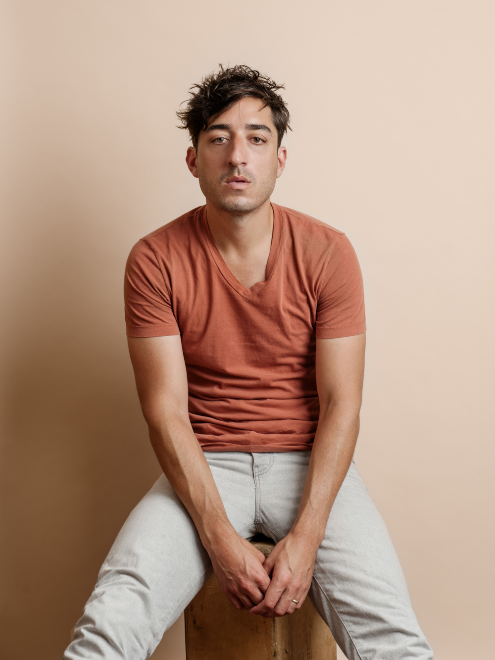 Ed Droste, Musician and Singer of Grizzly Bear  Hello Mr. Magazine