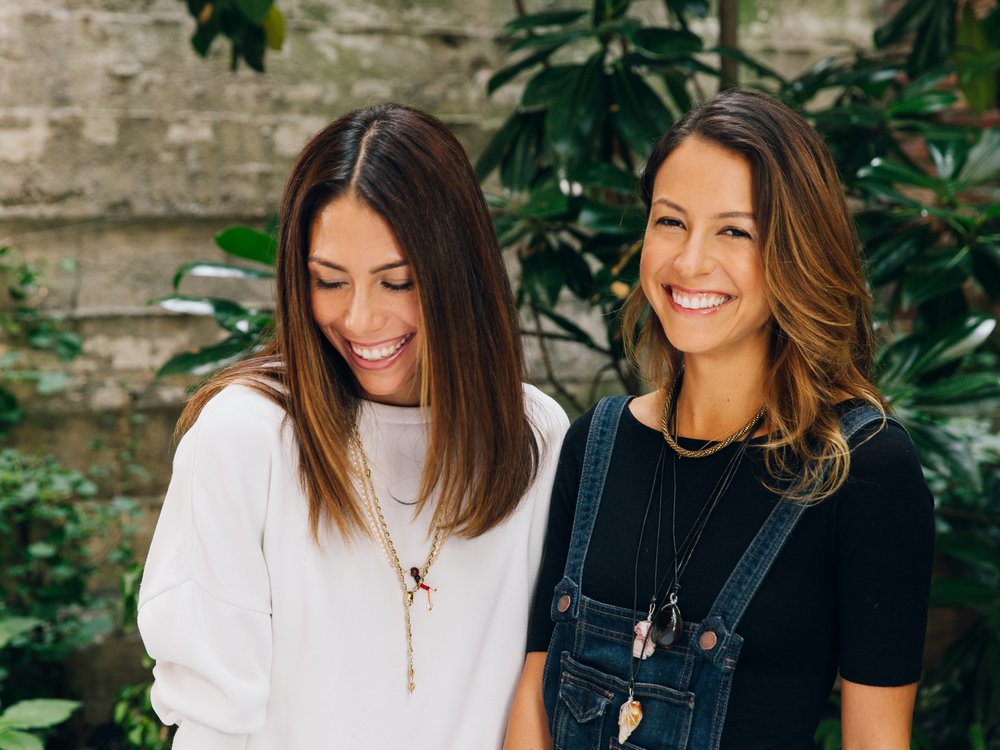 Vanessa Packer and Nicole Berrie, Bonberi  Estée Lauder