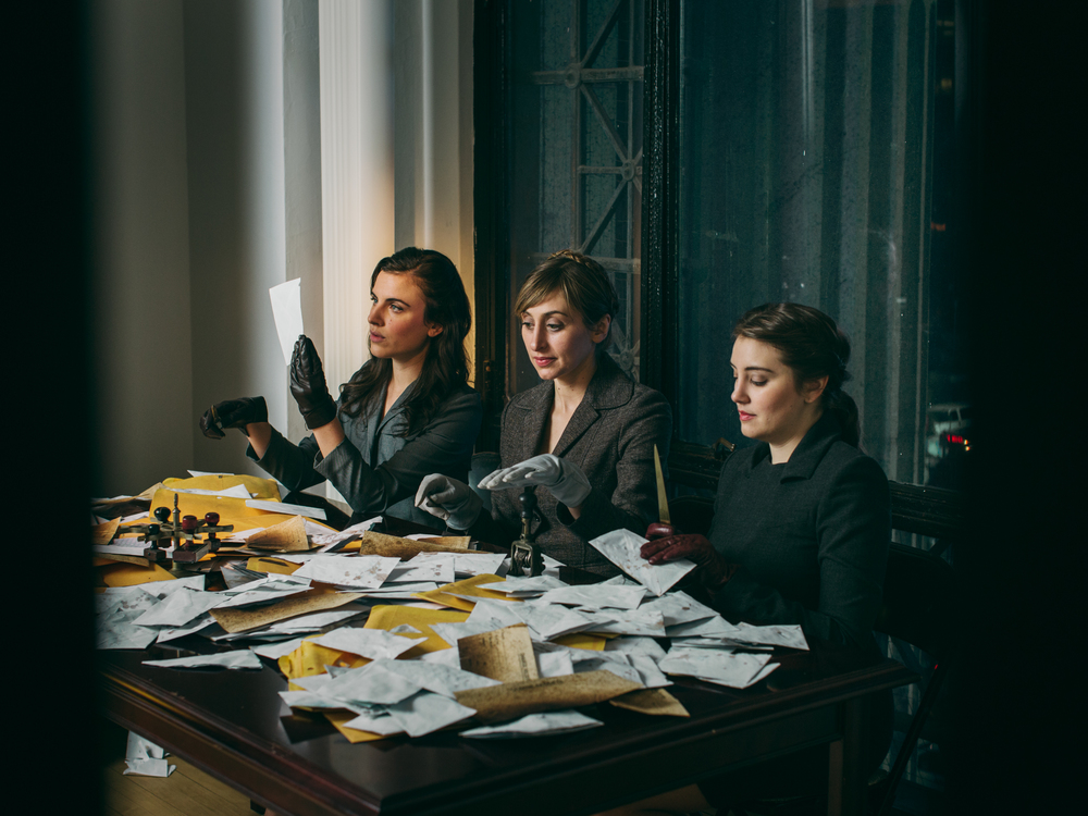 Dead Letter Office , An Experiential Theater Show   Spring Street Social Society