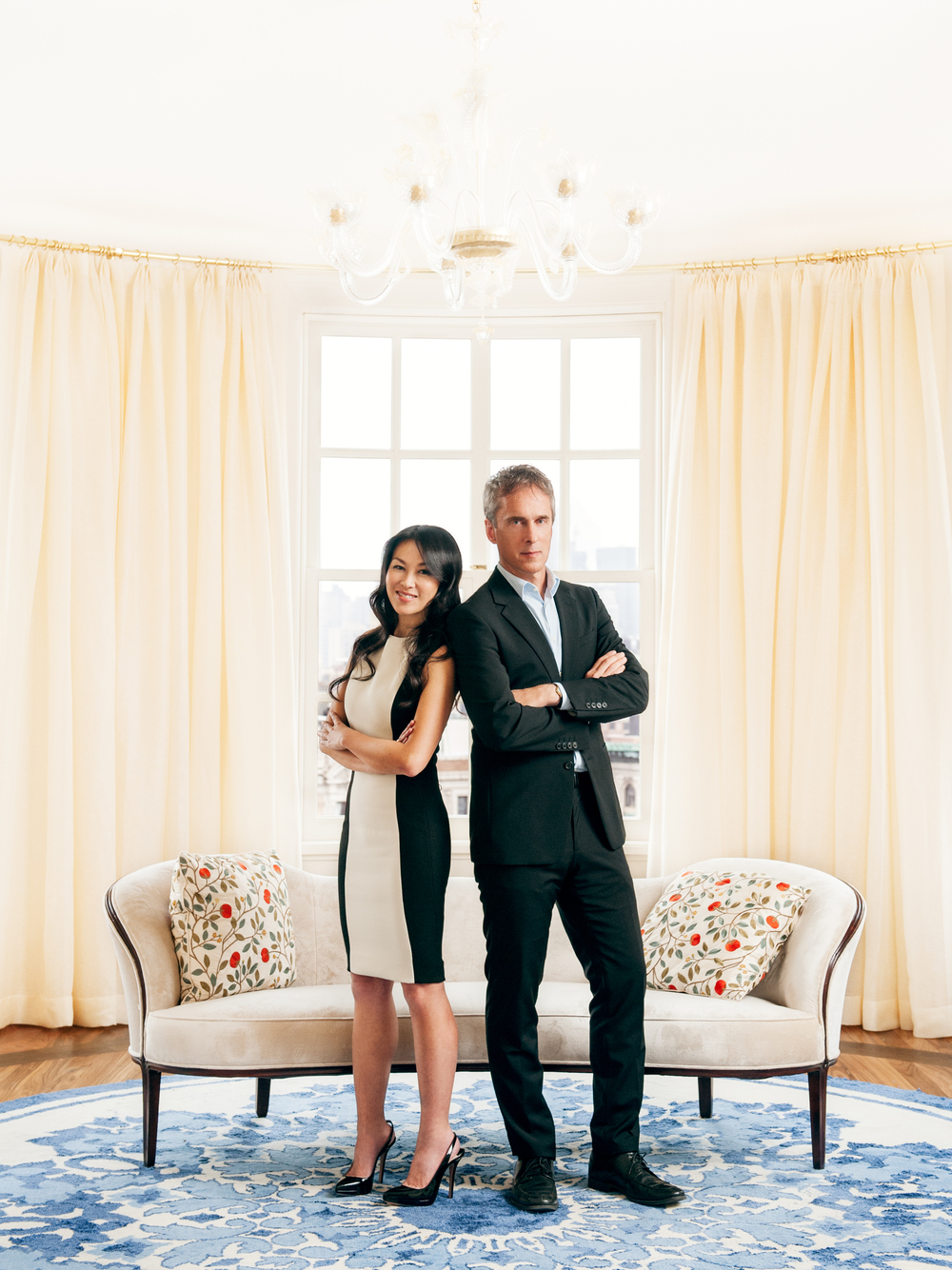 """Amy Chua & Jed Rubenfeld, Authors of """"The Triple Threat""""and """"Battle Hymn of the Tiger Mother""""  Red Magazine UK"""