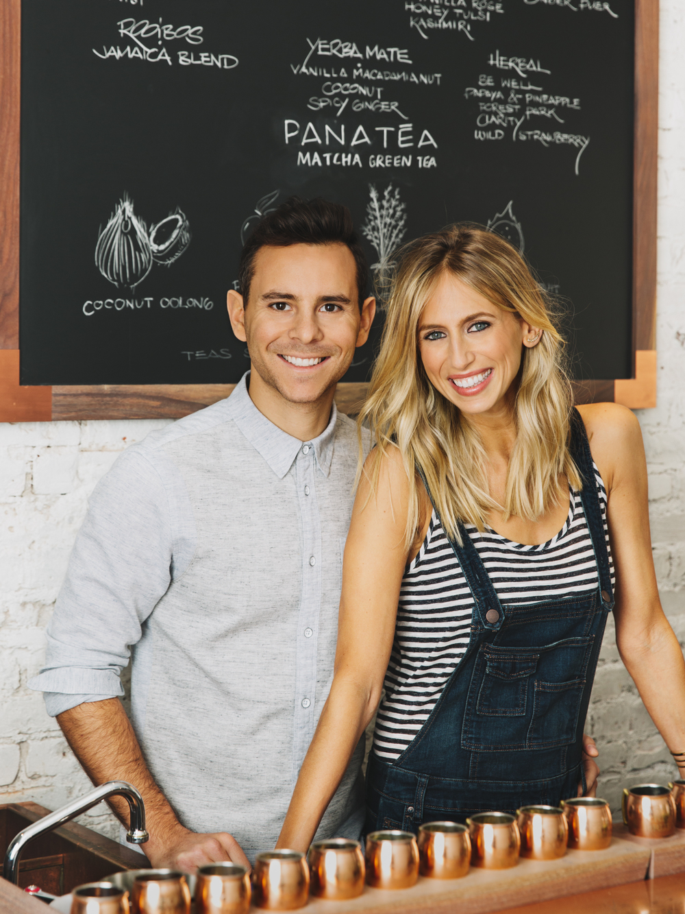 David Mandelbaum and Jessica Lloyd, Founders of Panatea  SELF Magazine