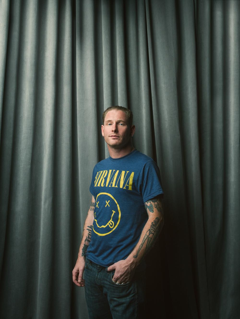 Corey Taylor, singer of Slipknot