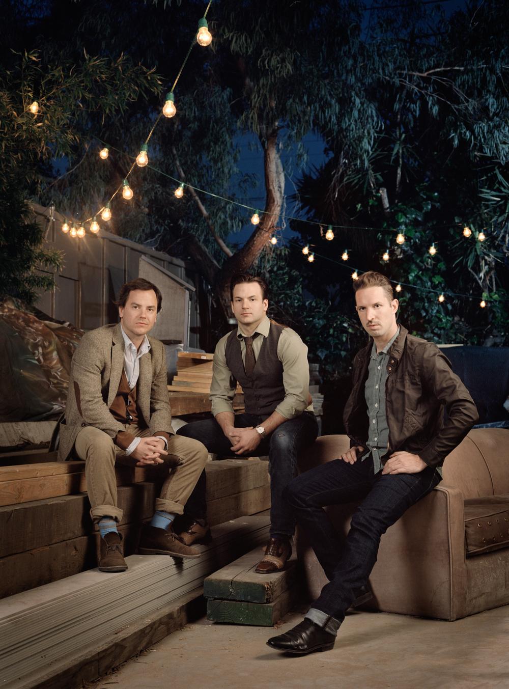 Ryan Schude, Collins Schude, and Dan Busta, 2012