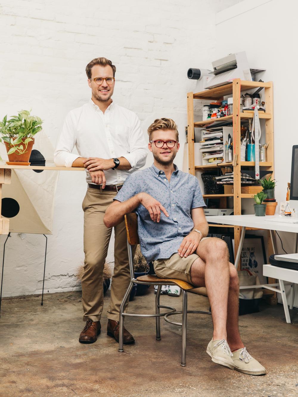 Adam Hurly & Sam Kalda, Creator and illustrator of  The Prospectives